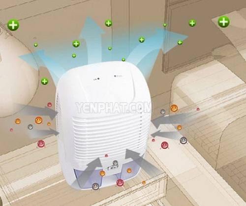 cách sử dụng máy hút ẩm