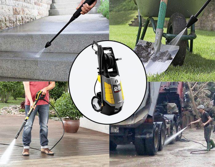 Những model máy rửa xe sử dụng mô tơ chổi than được yêu thích nhất hiện nay