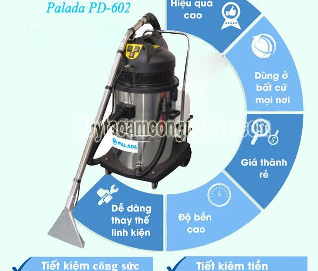 Vì sao nên đầu tư máy giặt thảm phun hút Palada PD 602?