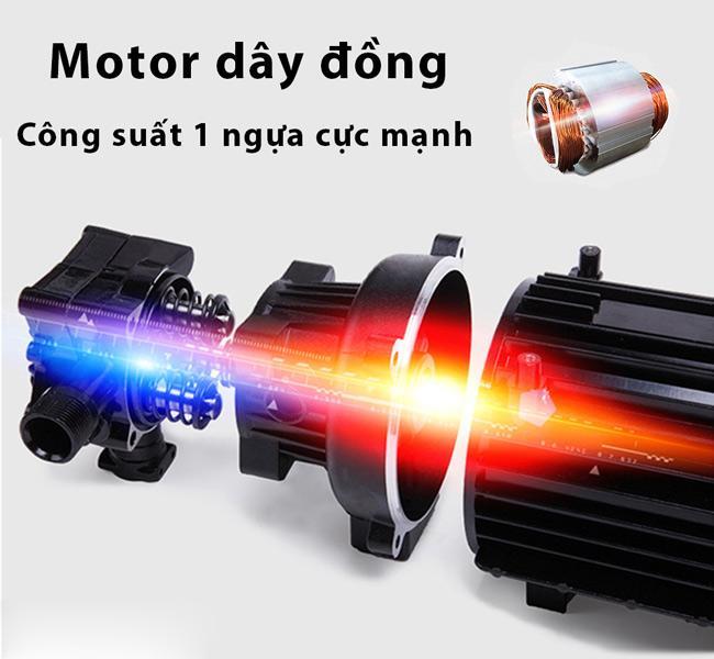 Máy sử dụng mô tơ cảm ứng từ chất lượng cao