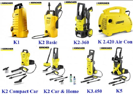 Những điều bạn cần biết khi mua thiết bị máy rửa xe gia đình?