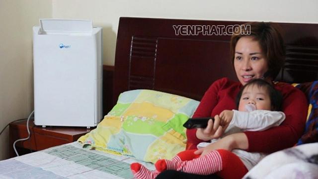 Máy hút ẩm cho phòng ngủ giúp bảo vệ sức khỏe tốt nhất