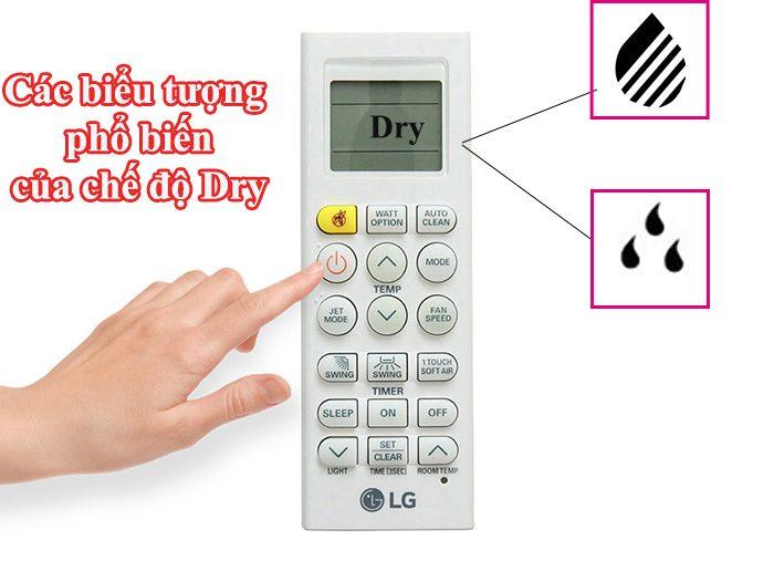 Chế độ dry của điều hòa là gì?