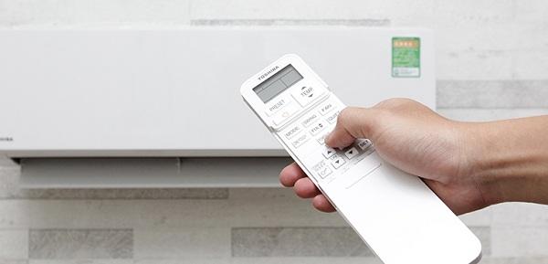 Cách chỉnh máy lạnh Toshiba