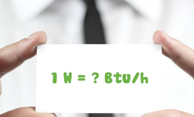BTU là gì? Công suất lạnh của điều hòa 9000, 12000 BTU