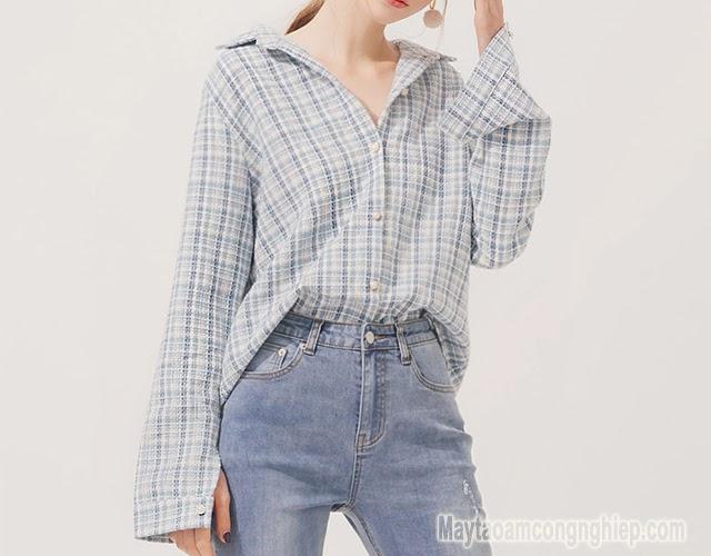 áo sơ mi dành cho người thấp