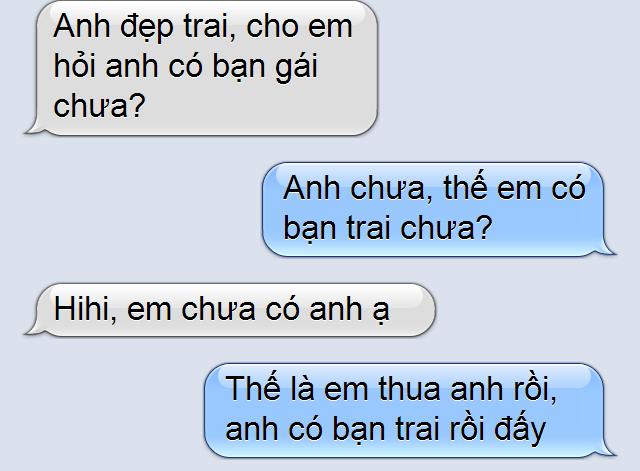các mẫu tin nhắn troll bạn gái