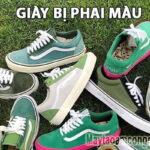 Giày bị phai màu & Mẹo khắc phục giày bị phai màu hiệu quả tại nhà