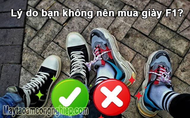 giày rep f1 là gì