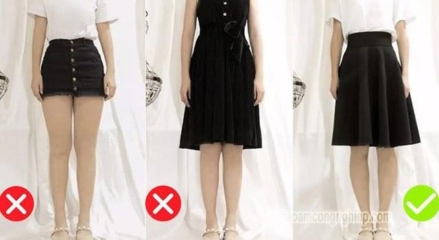 thời trang dành cho người thấp béo