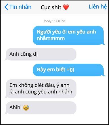 tin nhắn troll bạn gái hay